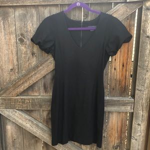 FRENCH CONNECTION TIGHT BLACK DRESS